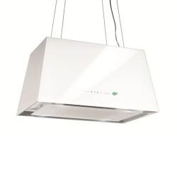 LUMIERE E.ION GLASS WHITE 67cm, (вытяжка, пристенная, белое стекло)