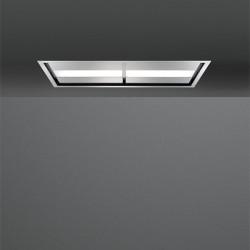 NUVOLA IS STEEL 140 (вытяжка, потолочная, нерж.сталь, без мотора)