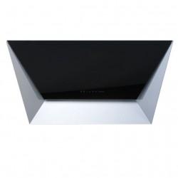 PRISMA BLACK 115 (вытяжка, пристенная, чёрное стекло+нерж.сталь)