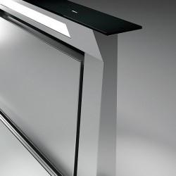 DOWNDRAFT GLASS BLACK 90 (вытяжка, в столешницу, черное стекло, без мотора)