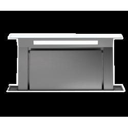 DOWNDRAFT GLASS WHITE 120, (вытяжка, в столешницу, белое стекло, без мотора)