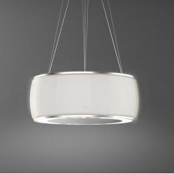 SOFFIO IS.58 White Satin Glass (островная, муранское стекло - белый матовый)