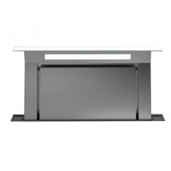 DOWNDRAFT GLASS WHITE 90 (вытяжка, в столешницу, белое стекло, без мотора)