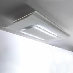 CIELO IS WHITE 120 (вытяжка, потолочная, белое стекло)